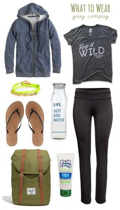 What To Wear: Going Camping