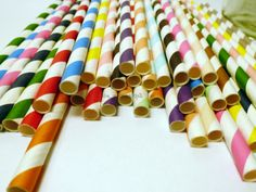Your Mix 100 Paper Straws