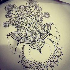 Картинки по запросу hamsa lotus