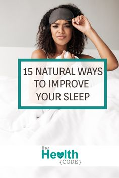 15 Natural ways to improve your sleep and have you counting sheep in no time. Sleep Help, Health And Wellbeing, Women's Health, How To Stay Healthy, Healthy Sleep, Ways To Relax, Stop Eating, Alternative Health, Organic Oil