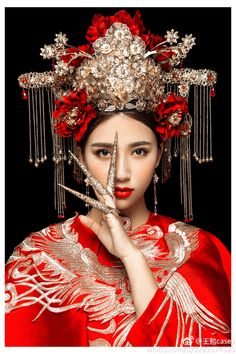 Beautiful wedding dress photos,Chinese traditional red wedding dress pictures