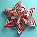 Christmas tinker: stars tinker with paper for Christmas - do Christmas decoration yourself - Basteln mit kindern Christmas Decorations, Christmas Ornaments, Holiday Decor, Crochet Decoration, Your Cards, Birthday Cards, Bloom, Knitting, Pattern