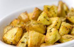 Batatas assadas com alecrim - Vix