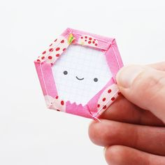 Printable Happy Hexagon Templates // wild olive
