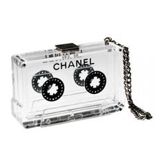 Behold The Chanel Cassette Clutch ❤ liked on Polyvore featuring bags, handbags, clutches, chanel, accessories, purses, chanel handbags, chanel clutches, handbags purses and fox purse