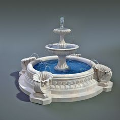 Fountain Model available on Turbo Squid, the world's leading provider of digital models for visualization, films, television, and games. Water Fountain Design, Home Fountain, Garden Water Fountains, Pillar Design, Fire Photography, Dream Shower, Gaming Room Setup, Water Features In The Garden, 3d Max