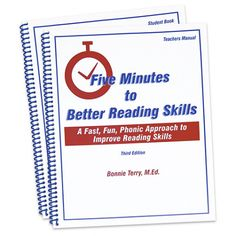 Five Minutes to Better Reading Skills - Phonics = Learn to Read {Affiliate}