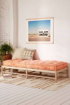 peachy boho daybed