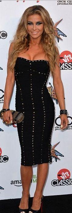 3040fb7d7afc Carmen Electra: Dress – Herve Leger Shoes – Christian Louboutin Purse –  Alexander McQueen Wild