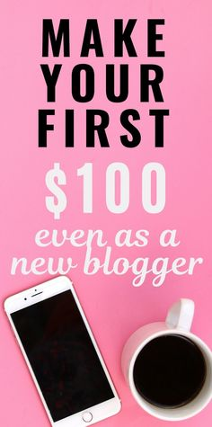 How to use Pinterest to Make Money - Make Your First $100 Online How To Create A Successful Blog, Earn Extra Money Online, Blog Online, Blog Planner, Pinterest For Business, Online Entrepreneur, Make More Money, Blogging For Beginners, Pinterest Marketing