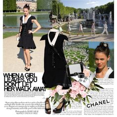 Laura Neiva actress wore the look 25 from the Rtw SS 2012 collection with CHANEL, created by ffpava on Polyvore
