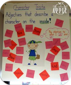 The Colorful Apple: Character Traits