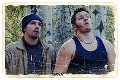 just adorable ! Matt & Gabe Brown Alaskan Bush People