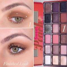 If guessed One Shadow you were right Sweet Peach Eyeshadow Palette I applied to the crease and blended and with what… Makeup Tips Eyeshadow, Peach Eyeshadow, Skin Makeup, Makeup Cosmetics, Beauty Makeup, Benefit Cosmetics, Lipstick Palette, Mac Matte Lipstick, Mac Lipsticks