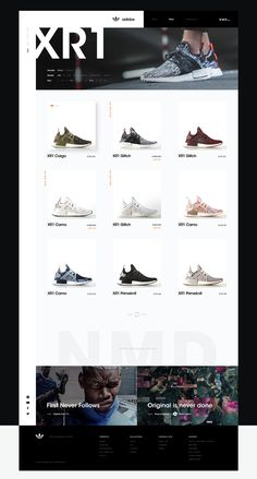 adidas NMD on Behance