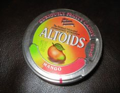 Brand recognition: Altoids Mango sours are available on eBay for $55