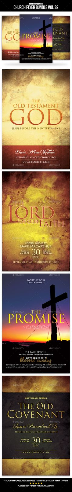 Church Flyer Bundle Vol. 39