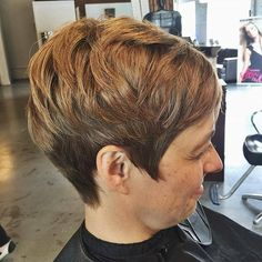 Textured pixie by Jessica! Book today at www.thecherryblossomsalon.com or 404-856-0533 #thecherryblossomsalon