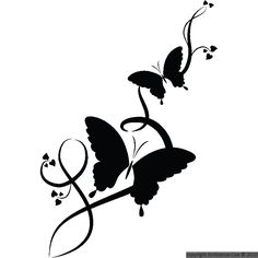 Simple Wall Paintings, Diy Wall Painting, Modern Art Paintings, Butterfly Stencil, Butterfly Clip Art, Butterfly Wallpaper, Beautiful Nature Wallpaper, Love Wallpaper, Pencil Art Love