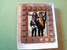 Porta retratos todo en chocolate