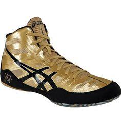 My new Jordan Burroughs wrestling shoes for coaching