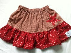 Patriotic Skirt Matching Brother Available by SewShellz on Etsy, $18.00