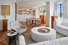 This stylish hotel by the Lore Group is located in Washington D.C's Dupont Circle neighbourhood and offers Art Deco inspired rooms and suites plus a posh restaurant and bar. Dupont Circle, Washington Dc, Room Inspiration, The Neighbourhood, Art Deco, Restaurant, Bar, Table, Rooms