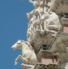 Horse and Ox on Façade of Cathedral of Siena
