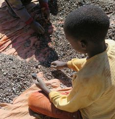 APPLE:   CHILD LABOR IN YOUR PHONES? Apple makes huge profits from their high-tech products. It's time they check for child labor and hazardous working conditions in their cobalt supply chains.   Tell Apple you don't want human rights abuses in your devices. #notinmyphone