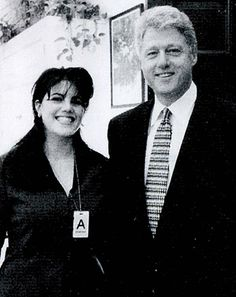 Monica Lewinsky Auction Bill Clinton Letter Black Negligee Up for Bidding  sc 1 st  Pinterest & HAHAHA! Monica Lewinskyu0027s Former Rabbi To Deliver Benediction After ...