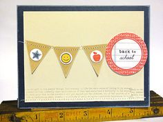 Back to School Banner Card
