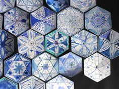 Delft Tiles with an Islamic Twist by maureen crosbie