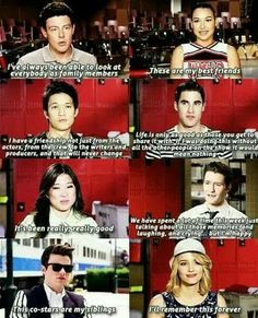 red is our color for victory glee Rachel And Finn, Best Frends, Quinn Fabray, Glee Club, Yes I Have, Naya Rivera, Chris Colfer, Dianna Agron, Cory Monteith
