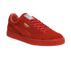 Buy Red Mono M Puma Suede Classic from OFFICE.co.uk.
