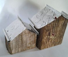 Petit Rustic Zen Houses by purestylecrafts on Etsy, £35.00