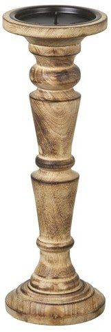 Parlane Sherwood Pillar Candle - Natural (300x100mm)