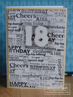 Image result for male 18th birthday card