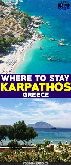 Come and explore where to stay on the remote Greek island of Karpathos
