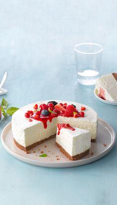 Philadelphia Cheesecake Recipe - Fresh Berry Cheesecake