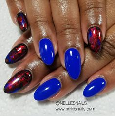 """344 Likes, 2 Comments - Get Some Nelle-zazz in Yo Life (@nellesnails) on Instagram: """"Hey Nails! For Mrs. Robeeeen!  #datgirlgood #naillady #naturalnails #handpainted #showmethemani…"""""""