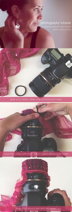 Idea per fare foto particolari