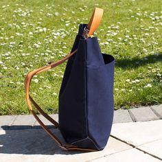 School Bag in Navy by Tembea