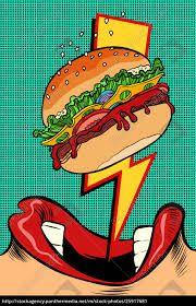 40 Ideas Pop Art Ilustration Fashion Style For 2019 Wallpaper Pop Art, Pop Art Drawing, Art Drawings, Fiesta Pop Art, Burger Cartoon, Pop Art Food, Pop Art Party, Pop Art Women, Retro Vector