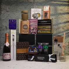 A luxury gift hamper packed full of amazing products.