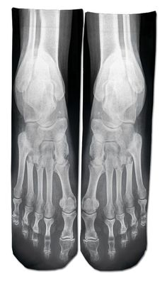 X-Ray Socks | Community Post: 21 Fabulously Eerie Skull Gifts