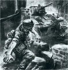 Military Drawings, Military Tattoos, Rabe Tattoo, Remembrance Day Art, Ww2 Propaganda Posters, German Soldiers Ww2, War Film, War Comics, Lion Art
