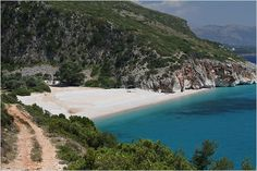 Gjipe Beach.  The Albanian Riviera!
