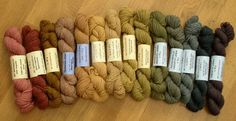 / Buckthorn gives all the colours! Color Magic, Yarn Thread, Indigo Dye, Knitting Yarn, Color Inspiration, All The Colors, Weaving, Colours, Natural Dyeing