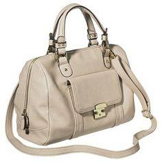 Merona® Satchel Handbag with Removable Shoulder Strap - Beige