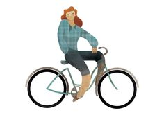 Portfolio of Dijon based freelance illustrator Andrew Lyons - Editorial and Advertising illustration Bike Illustration, Graphic Illustration, Retro Illustrations, Bicycle Art, Kids Bike, Freelance Illustrator, Cartoon Kids, Illustrators, Art Prints